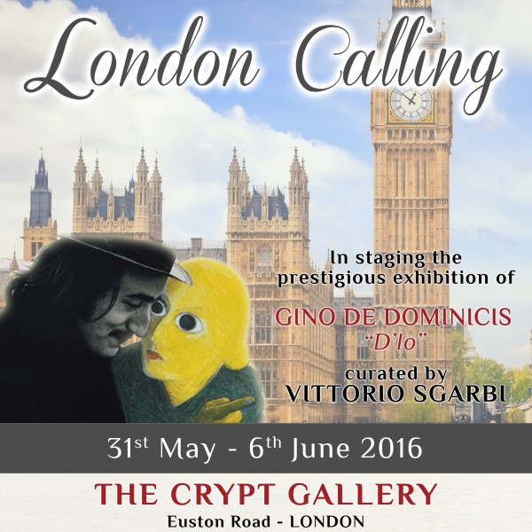Locandina LONDON CALLING - inglese