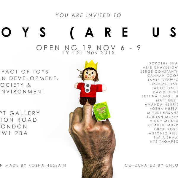 Toys (Are Us) Official Invitation_Artists